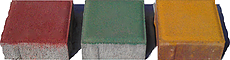 Тротуарная плитка Квадрат Одесса